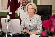 Speaker Mūrniece: Latvia expresses firm support to the Belarusian people